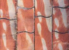 Parede de pedra com blocos grandes para o uso do fundo Fotografia de Stock