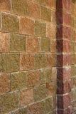 Parede de pedra com uma coluna Fotografia de Stock Royalty Free
