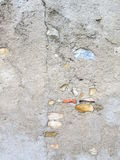 Parede de pedra concreta e colorida Foto de Stock Royalty Free