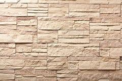 Parede de pedra da ardósia decorativa Imagem de Stock