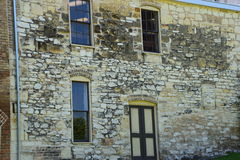 Parede de pedra da padaria Imagem de Stock Royalty Free