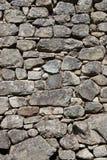 Parede de pedra da rocha Fotos de Stock