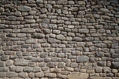 Parede de pedra da rocha Imagens de Stock