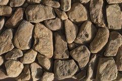 Parede de pedra da textura Fotografia de Stock Royalty Free