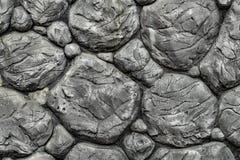 Parede de pedra de Boulder Fotografia de Stock Royalty Free