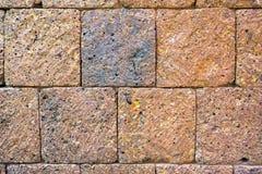 Parede de pedra de Brown Imagem de Stock Royalty Free