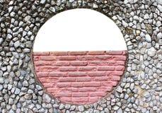 Parede de pedra de inventor de vista. Imagens de Stock