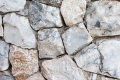 Parede de pedra de mármore Foto de Stock Royalty Free