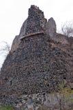 Parede de pedra do castelo Foto de Stock
