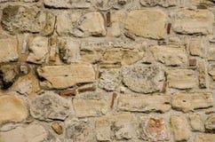 Parede de pedra do castelo velho Imagem de Stock Royalty Free