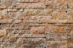 Parede de pedra do tijolo moderno Imagem de Stock Royalty Free
