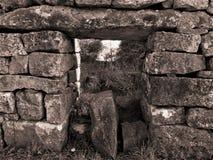 Parede de pedra em Ireland Imagem de Stock