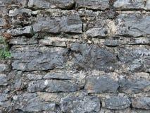Parede de pedra envelhecida Fotos de Stock