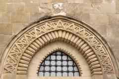 Parede de pedra exterior velha Imagens de Stock