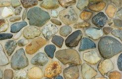 Parede de pedra, fundo das rochas para ajardinar Imagens de Stock