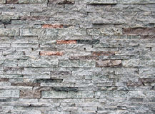 Parede de pedra mergulhada Imagem de Stock