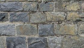 Parede de pedra mossy velha Fotos de Stock Royalty Free