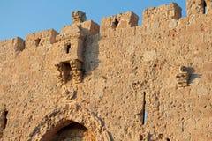 Parede de pedra na abadia de Dormition - Jerusalém Foto de Stock Royalty Free