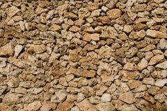 Parede de pedra natural Imagem de Stock Royalty Free