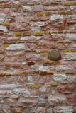 Parede de pedra natural - fundo Imagens de Stock