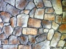 Parede de pedra ou pavimento redondo Fotografia de Stock Royalty Free