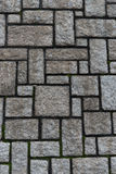Parede de pedra quadrada Fotografia de Stock Royalty Free