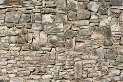 Parede de pedra resistida Fotografia de Stock