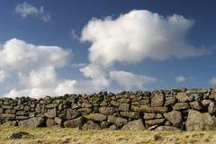 Parede de pedra seca Fotografia de Stock Royalty Free
