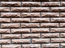 Parede de pedra, tijolo Parede da casa fotografia de stock royalty free