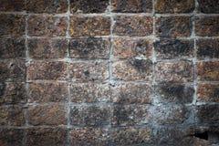 Parede de pedra velha Fotos de Stock Royalty Free