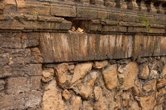 Parede de pedra velha Fotografia de Stock Royalty Free