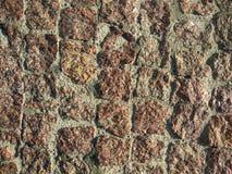 A parede de pedra velha Imagem de Stock