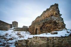 Parede de pedra velha da fortaleza de Akkerman Fotografia de Stock