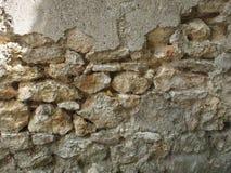 Parede de pedra velha em França Imagens de Stock Royalty Free