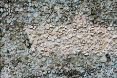 Parede de pedras pequenas Imagens de Stock Royalty Free