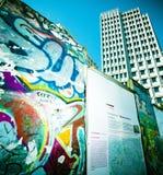 Parede de Potsdamer Platz imagem de stock