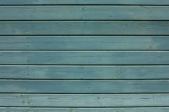 Parede de pranchas de madeira Foto de Stock Royalty Free