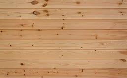 Parede de pranchas de madeira Fotos de Stock