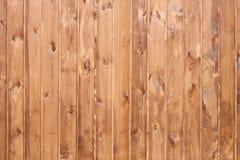 Parede de pranchas de madeira Fotos de Stock Royalty Free