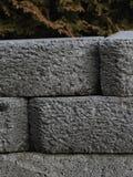 Parede de retenção de pedra Imagens de Stock
