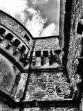 Parede de Rocca, San Leo, Itália Fotografia de Stock
