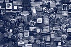 Parede de Rosetta Imagem de Stock