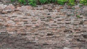 Parede de tijolo áspera Imagens de Stock