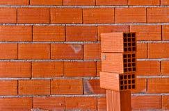 Parede de tijolo Foto de Stock