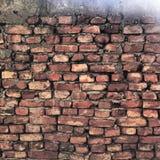Parede de tijolo Fotos de Stock