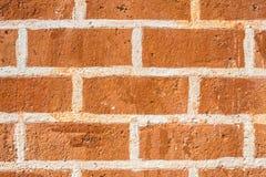A parede de tijolo fotografia de stock