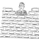 Parede de tijolo ilustração do vetor