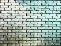 Parede de tijolo abstrata do Grunge - imagem de fundo foto de stock