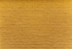 Parede de tijolo alaranjada Imagem de Stock