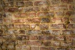 Parede de tijolo antiga Fotos de Stock Royalty Free
